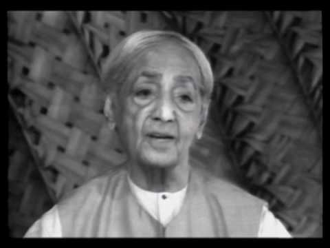 Can thought be separated from sensory perceptions? | J. Krishnamurti