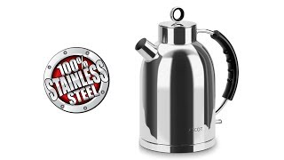100% STAINLESS STEEL ELECTRIC KETTLE ASCOT