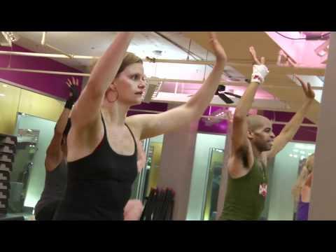 Retro-Robics at Crunch Gym