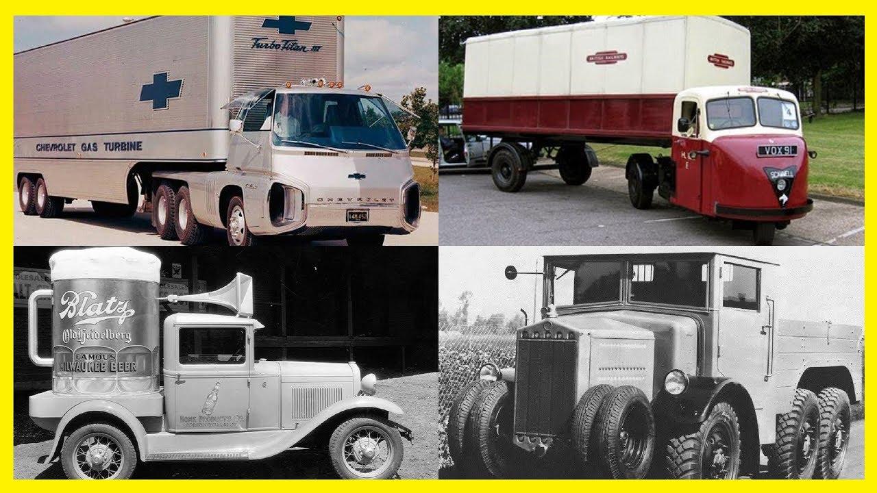 strange and unusual vintage trucks crazy and funny looking design trucks ever made 2017 youtube. Black Bedroom Furniture Sets. Home Design Ideas