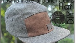 How to make 5 panel Camp Hat | ProperFit DIY