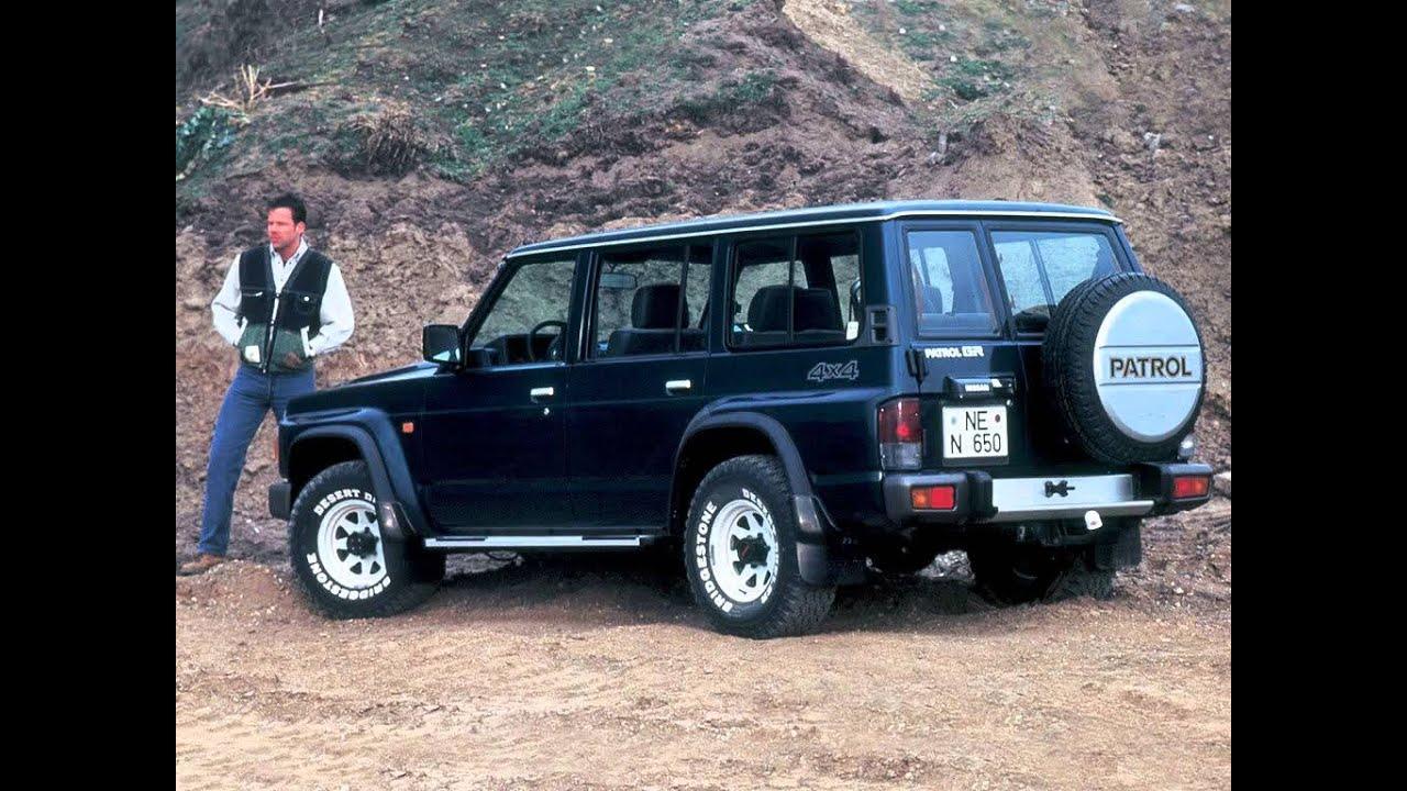 7 Passenger Suv >> Nissan Patrol IV Y60 SUV 5 doors Exterior & Interior - YouTube