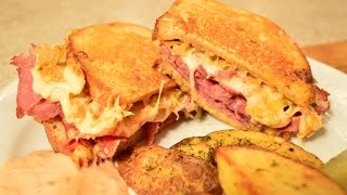 How To Make Legendary Reuben Sandwiches: Cooking With Kimberly