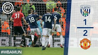 West Bromwich Albion vs Manchester United 1 - 2 Highlights EPL 2017