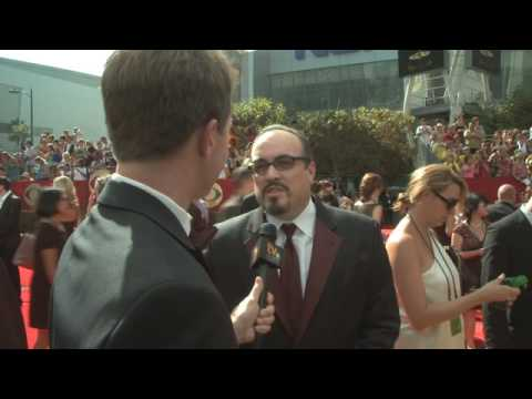 Primetime Emmy 61 Red Carpet   David Zayas