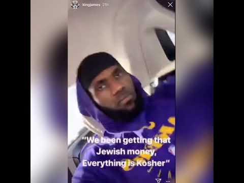 LeBron James Posts: Getting That Jewish Money