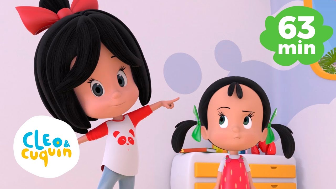 Head Shoulders Knees and Toes and more Nursery Rhymes of Cleo and Cuquin   Songs for Kids
