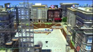 Sonic Generations - City Escape Acte 1 - Défi 4 : Course Alter Ego !