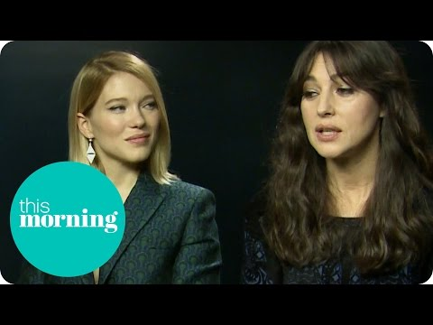 Lea Seydoux and Monica Bellucci On the Beauty of Bond Girls | This Morning