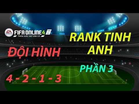 THÀNH HOÀ   FIFA ONLINE 4   CÁCH LEO RANK TINH ANH VỚI ĐỘI HÌNH 4-2-1-3 P.3