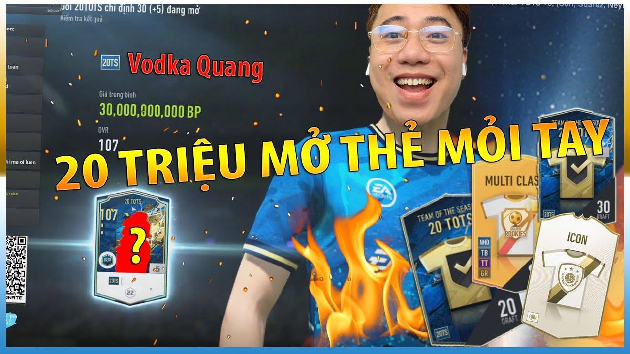 Vodka RICH | Bùng Nổ Kèo 20 Triệu mở thẻ Mỏi Tay từ dân chơi trẻ tuổi 2003