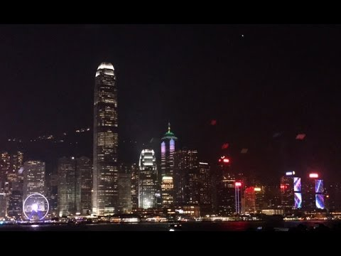 Hong Kong Harbour A Symphony of Lights 4K iPhone Footage