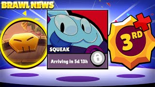BRAWL NEWS! - Squeak In Game! | 3rd Star Powers Debunked, Dinosaur Update Theme & More!