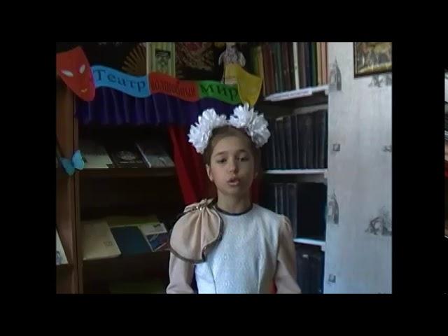 Изображение предпросмотра прочтения – МарияИсаенко читает произведение «Весна, весна! как воздух чист!..» Е.А.Баратынского