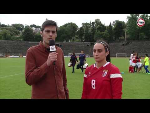 Adriana Gomes SC Braga | Entrevista e Golos | Braga x CP Martin