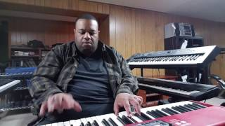 "Practicing ""Mornin'"" (Al Jarreau) performed by Darius Witherspoon (2/8/17)"
