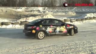 Тест драйв Honda Civic 4D и Mazda3