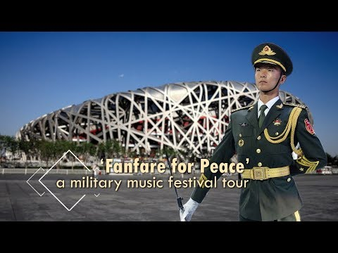 Live: 'Fanfare for Peace' – a military music festival tour上合