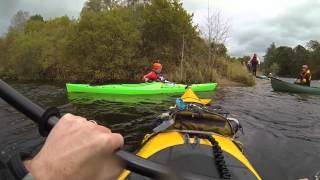 Kayaking the Tay Decent 2014