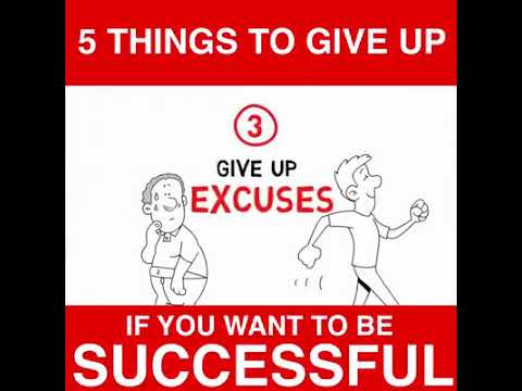 Great Big Minds   5 Things to Give Up if You Want to Be successful
