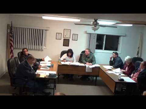 11/16/15 Village of Holiday Hills Board Meeting