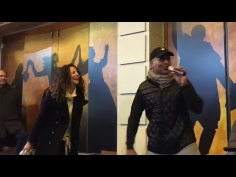 HAMILTON Ham4Ham 1916 with Mandy Gonzalez & Christopher Jackson