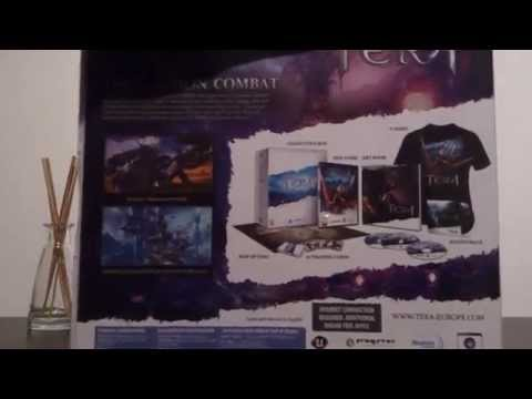 Tera Online Europe Collector's edition unboxing