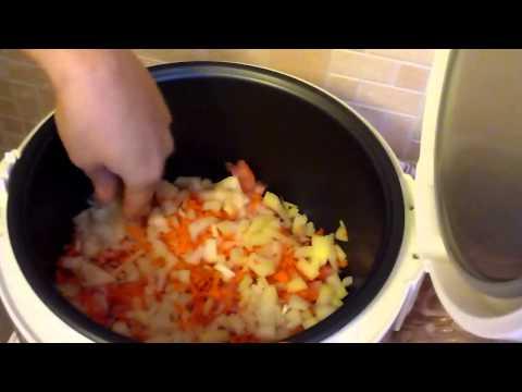 Как приготовить плов в мультиварке поларис со свининой видео
