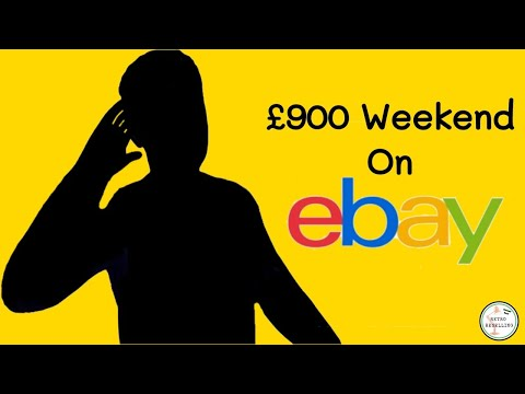 I Turned Over Almost A Grand In A Weekend Selling On EBay!