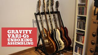 Gravity Vari-G5 : unboxing and assembling