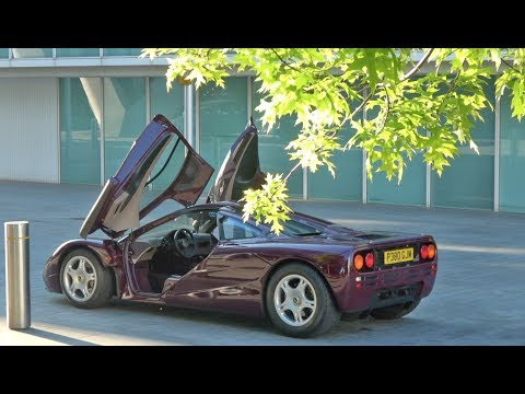 Road Trip In A McLaren F1 - The £14m Car!