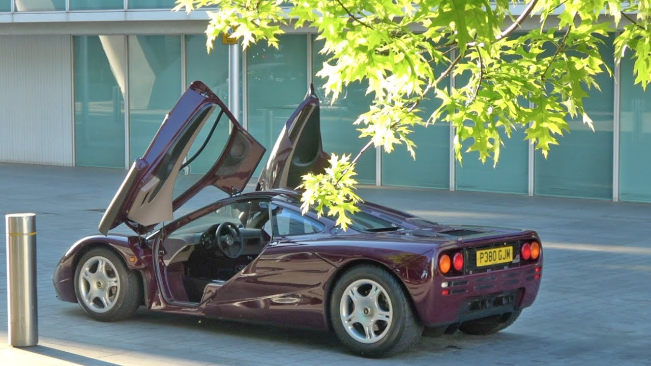 road trip in a mclaren f1 - the £14m car! - youtube