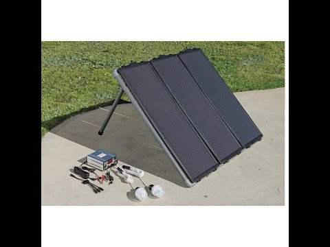 Harbor Freight Solar Kit / 5 days in the field review