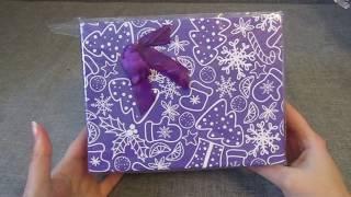 #FixPrice Подарочные коробки к новому году!+СЮРПРИЗ с котом внутри)))