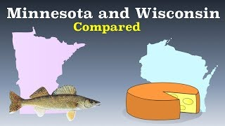 Minnesota and Wisconsin Compared