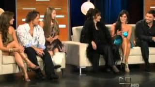 Sofia Lama y el elenco de EvaLuna  en Don Francisco Presenta