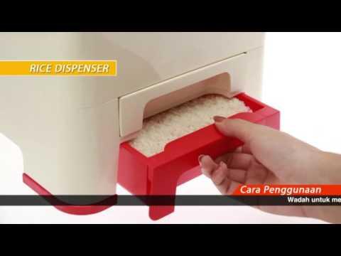 Tupperware Product Info - Rice Dispenser