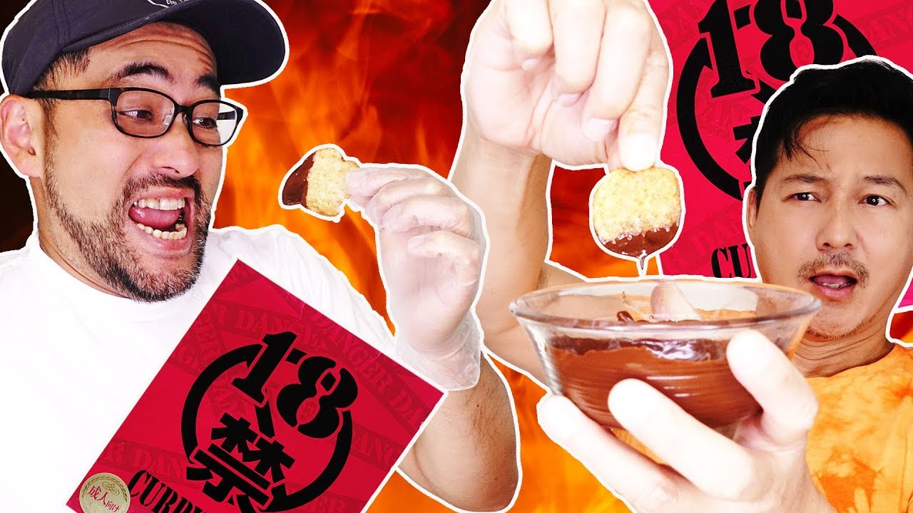 HOTTEST CHIPS IN JAPAN (Spicy Chocolate-Covered Potato Chips Recipe)