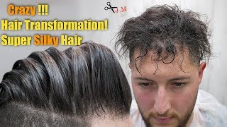 Haircut Transformation Tutorial - Silky Hair Treatment - Best Hairstyle for men 2018 - Episode 14