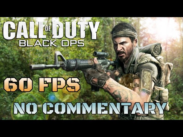 Call of Duty: BLACK OPS - Full Game Walkthrough - YouTube