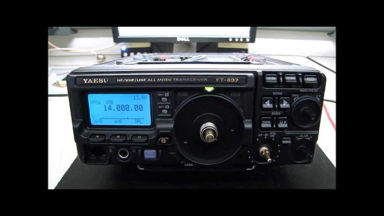 YAESU FT-897D Maintenance and inspection - ALPHA TELECOM