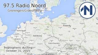 [tropo] 97.5 Radio Noord / Groningen 883km