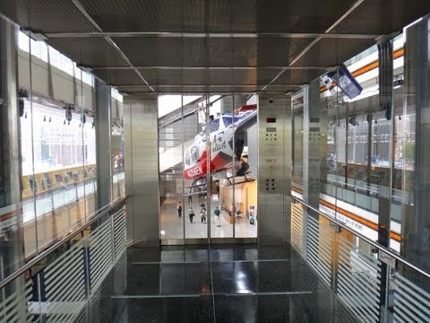 The Amazing Otis Hydraulic elevator system at the NEWSEUM in Washington DC Tallest and largest