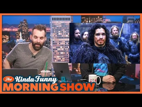 Does Andy Look Like Jon Snow?  The Kinda Funny Morning  03.15.18