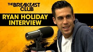 Author Ryan Holiday Speaks On Working With Birdman & His New Book
