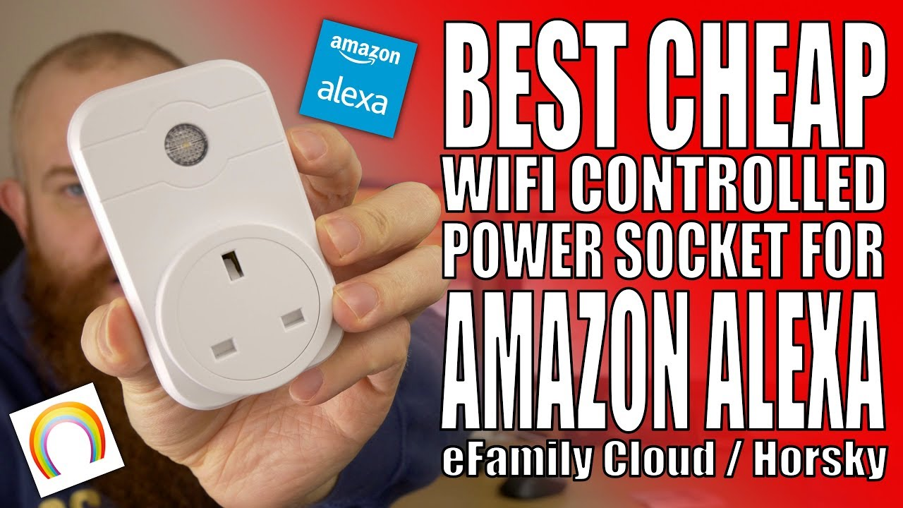 eFamily Cloud Alexa controlled Wifi Power Switches - Generic / Horsky
