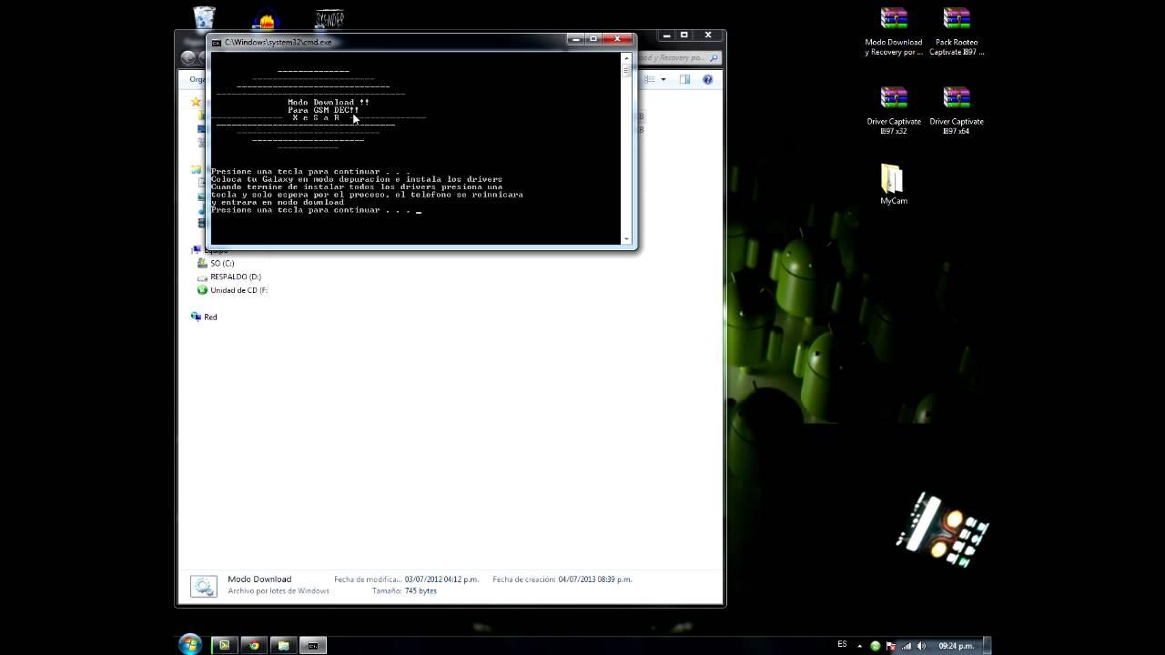 Comment configurer le courrier dans un Samsung i897 Captivate