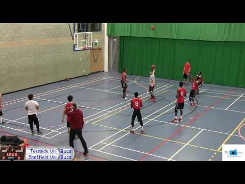 Teesside Uni vs Sheffield Uni Bucs League