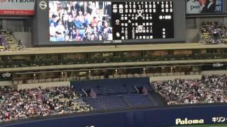 ドラゴンズ2016 福谷浩司 登板登場曲『羽/稲葉浩志』
