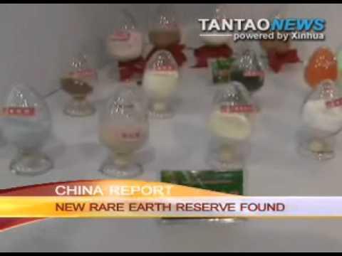 Rare Earth Minerals Found in Central China